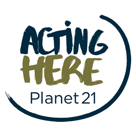Acting Here Planet 21 Vector Logo's thumbnail