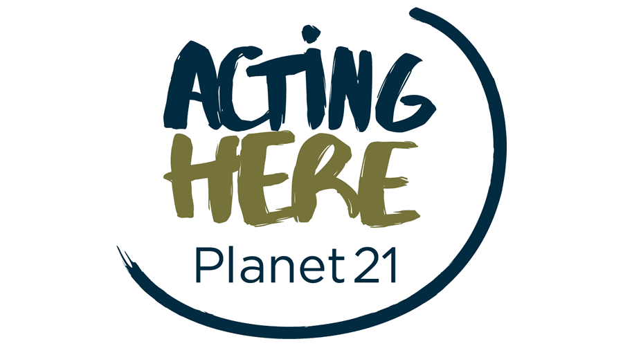 acting here planet 21 vector logo free download ai