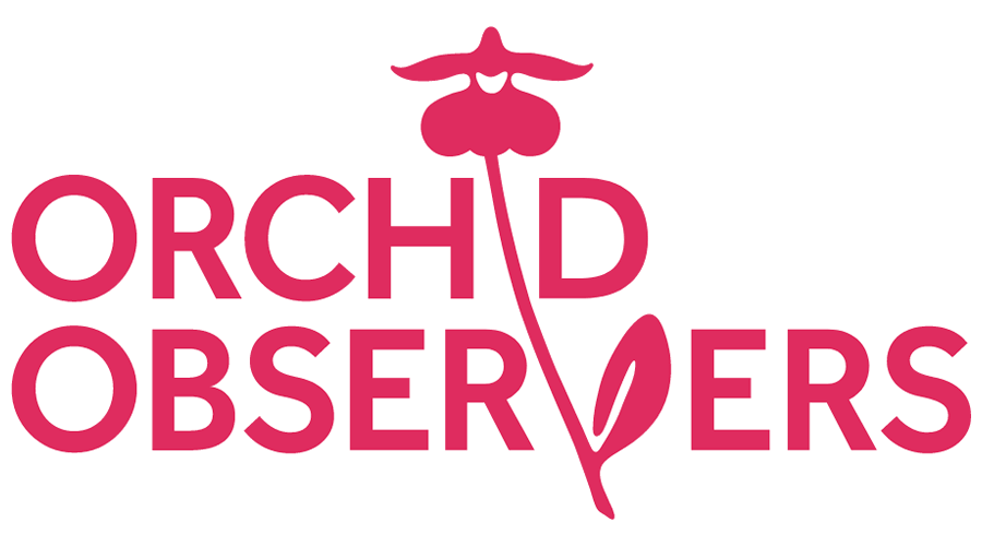 Orchid Observers Vector Logo