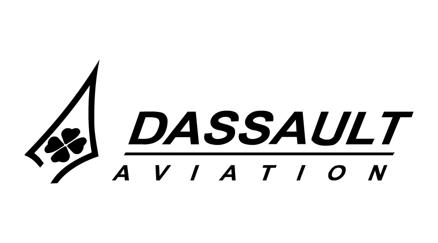 Dassault Aviation Logo | Top 10 Private Aircraft Manufacturers in the world | Vayu India Aviation