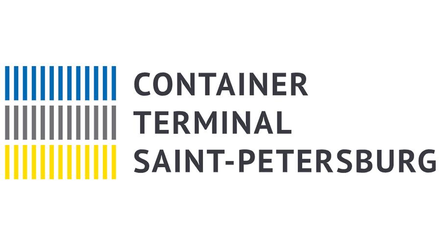Container Terminal of Saint Petersburg Vector Logo