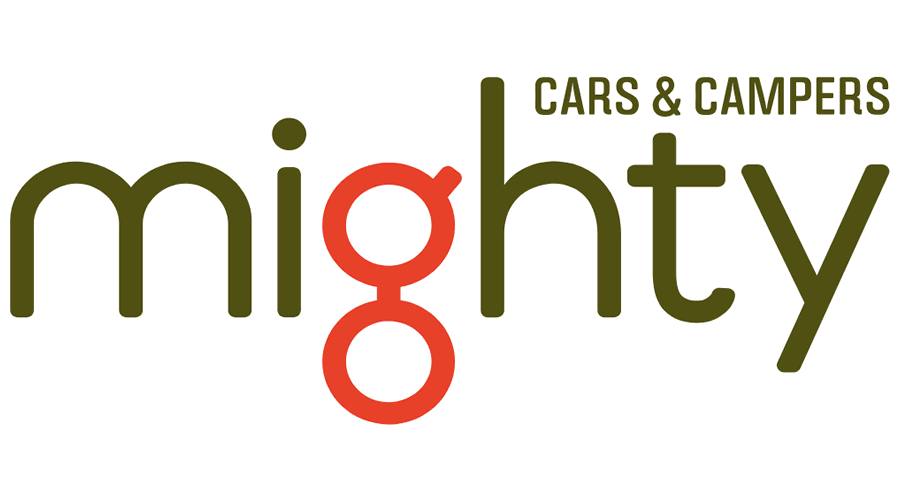 Mighty Cars & Campers Vector Logo