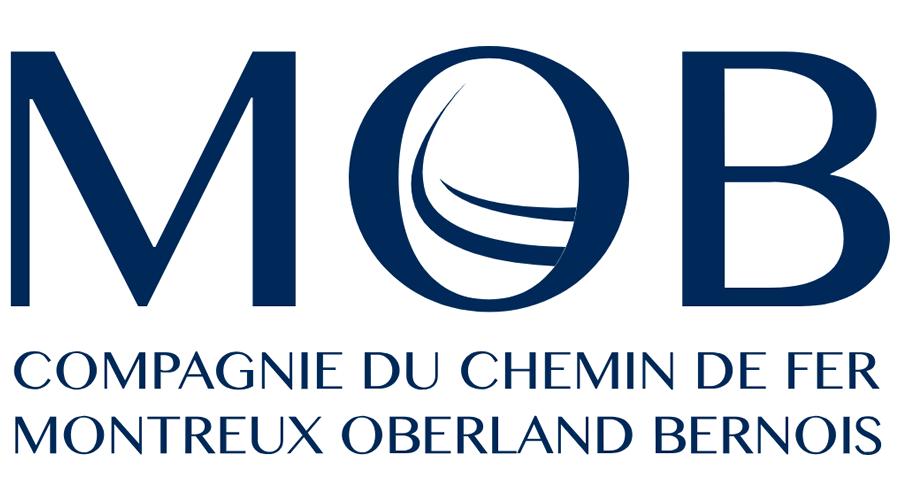 Montreux Oberland Bernois Railway (MOB) Vector Logo