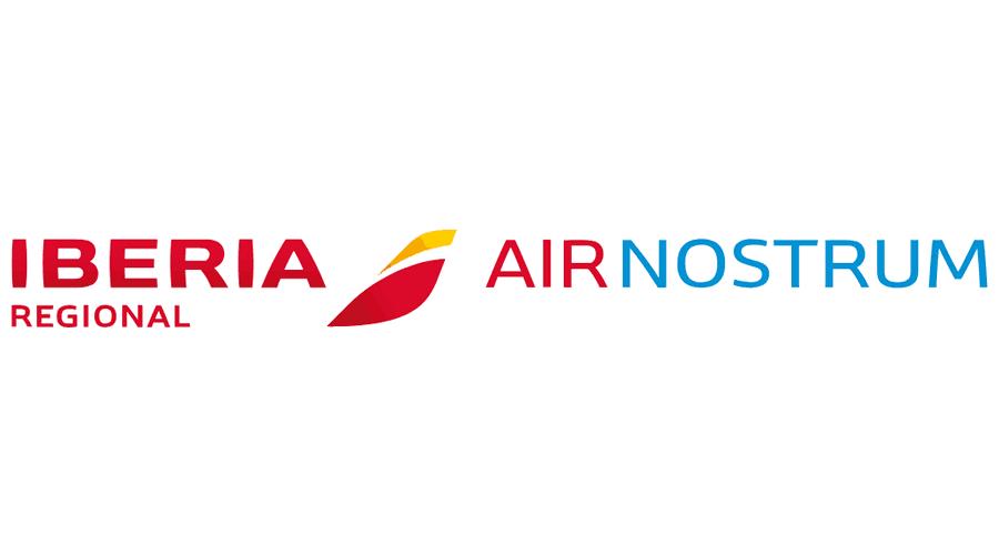 iberia regional air nostrum vector logo