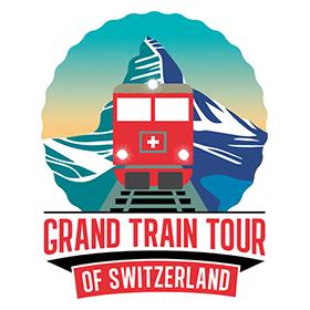 Grand Train Tour of Switzerland Vector Logo's thumbnail