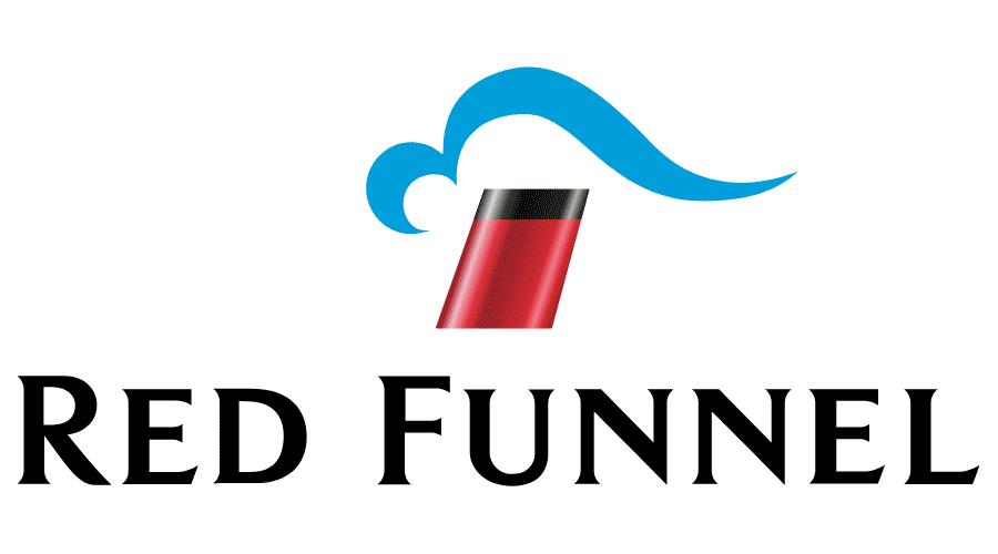 Red Funnel Vector Logo