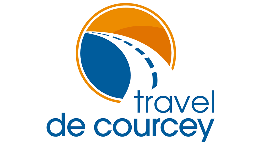Travel de Courcey Vector Logo