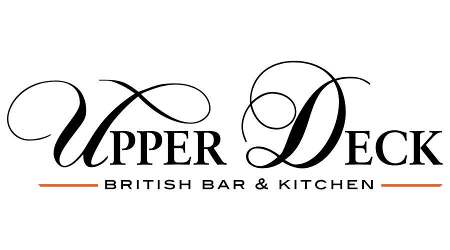 UPPER DECK BRITISH BAR & KITCHEN Vector Logo