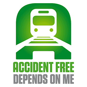 ACCIDENT FREE DEPENDS ON ME Vector Logo's thumbnail