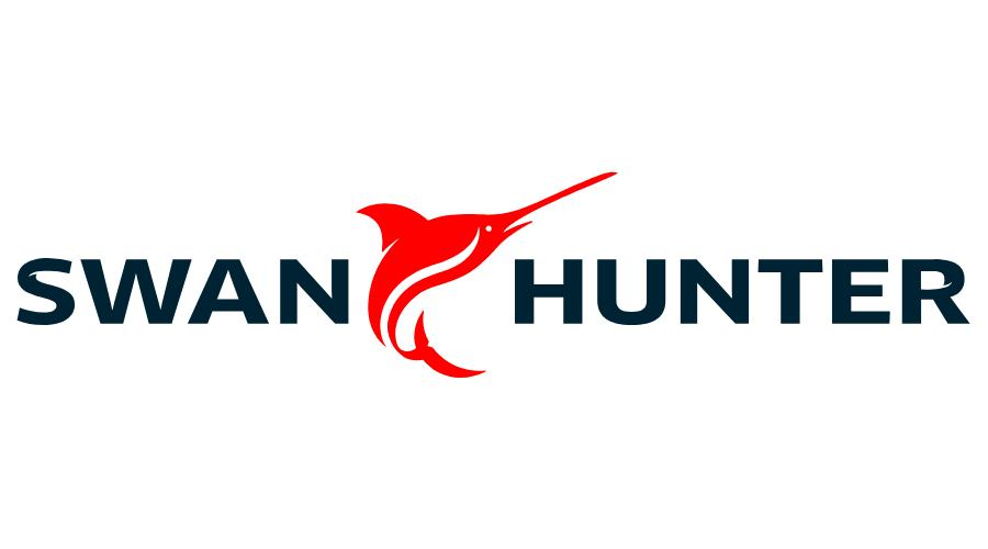 SWAN HUNTER Vector Logo