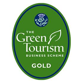 THE Green lourism BUSINESS SCHEME GOLD Vector Logo's thumbnail