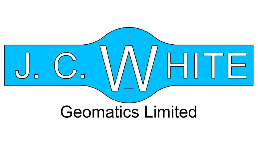 JC White Geomatics Vector Logo