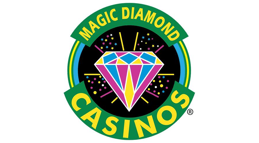 MAGIC DIAMOND CASINOS Vector Logo