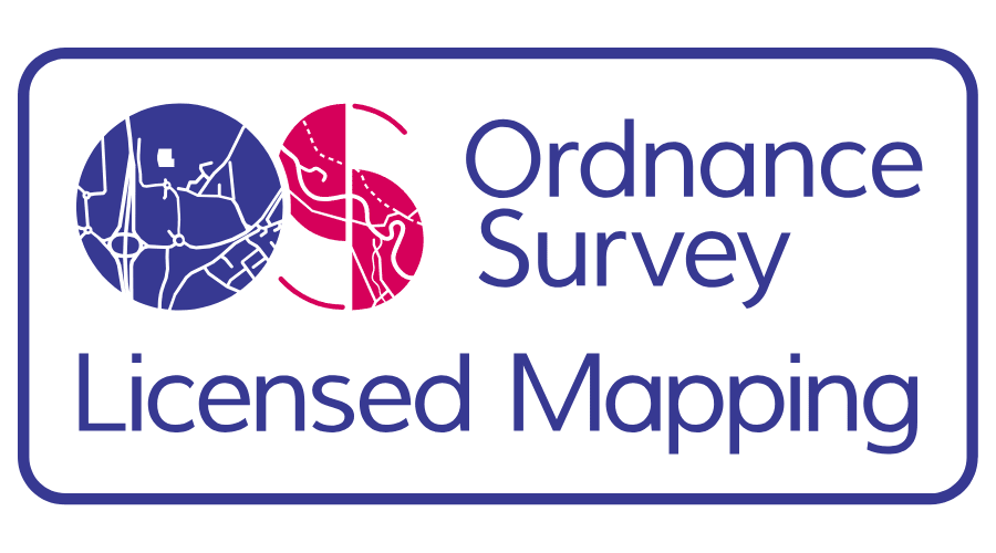 Ordnance Survey Licensed Mapping Vector Logo