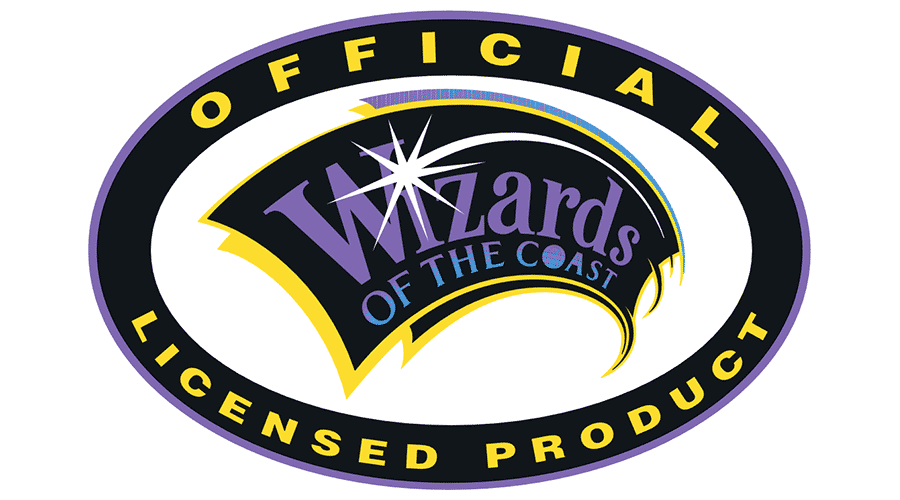 WIZARDS OF THE COAST GAMES OFFICIAL LICENSED PRODUCT Vector Logo