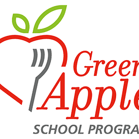 Green Apple School Program Vector Logo's thumbnail