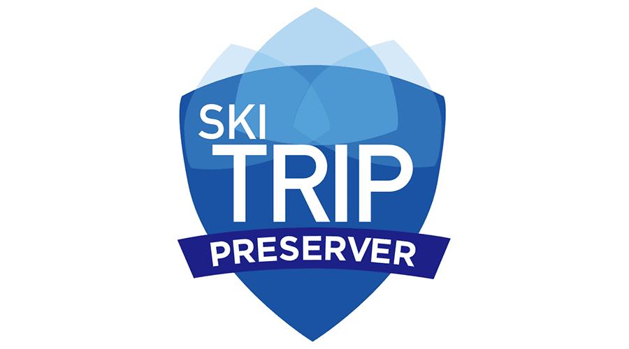 Ski Trip Preserver Vector Logo