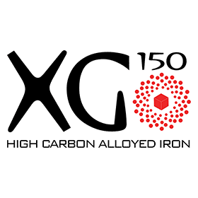 XG 150 HIGH CARBON ALLOYED IRON Vector Logo's thumbnail