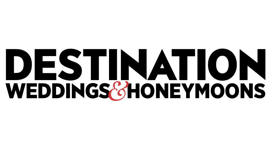 Destination Weddings & Honeymoons Vector Logo
