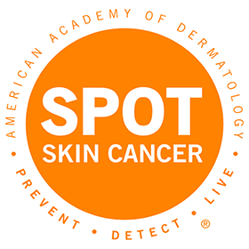 Spot Skin Cancer Vector Logo's thumbnail