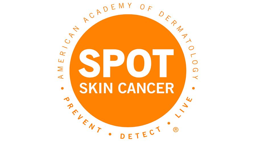 Spot Skin Cancer Vector Logo